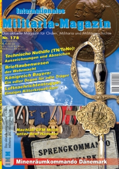 Internationales Militaria-Magazin IMM Nr. 178